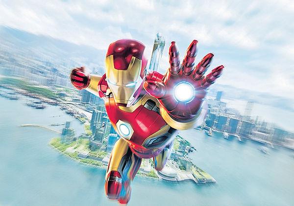鐵甲奇俠1月中 飛入迪士尼