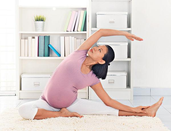 孕婦練瑜伽 減分娩痛楚