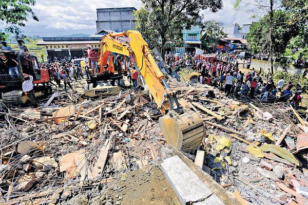 強震至少97死 印尼亞齊噩夢再臨