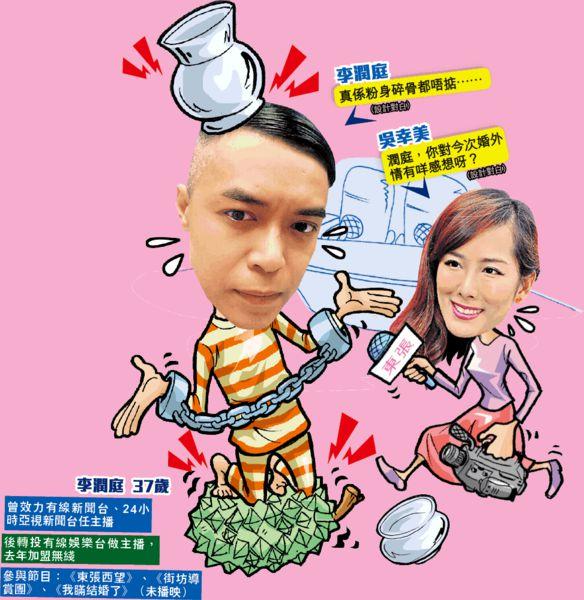 《東張》李潤庭被揭婚外情 港女聲討:又一個衰男人