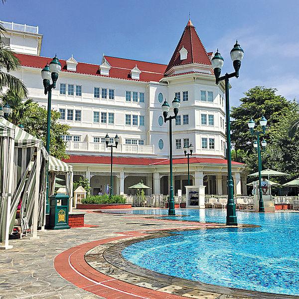 在香港迪士尼酒店宅度假