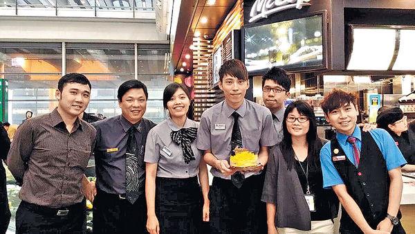 麥當勞兩餐廳職員 獲頒全球大獎