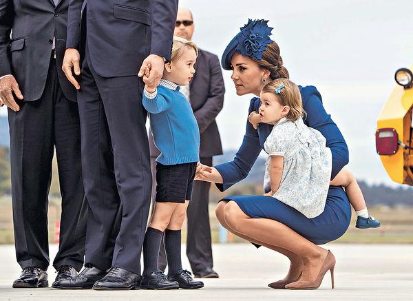 隨父母到加拿大 小公主首外訪