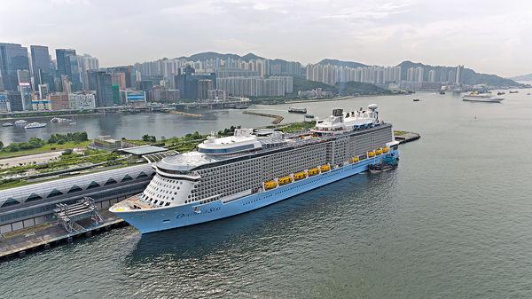 巨輪「海洋贊禮」下月駐港 最平$1988啟航
