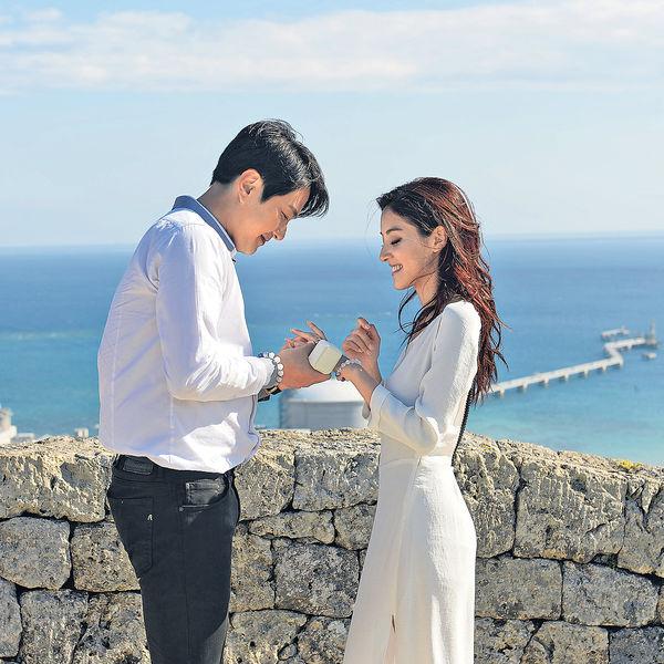 劇集外景成旅遊熱點 《巨輪II》沖繩浪漫求婚地