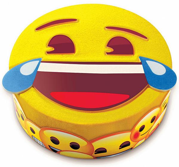 聖安娜Emoji蛋糕 表情勁盞鬼