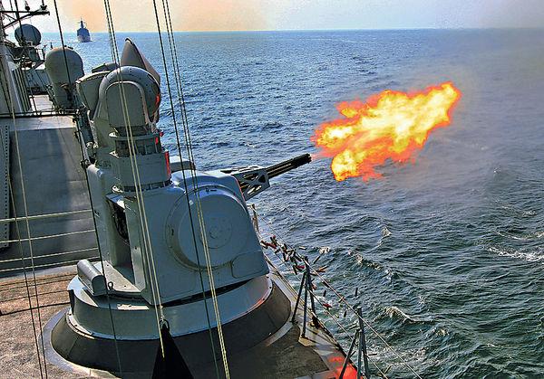 中俄南海軍演閉幕