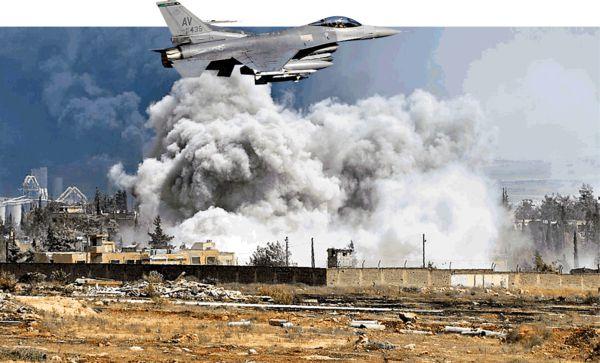 美戰機「誤炸」敘軍 近200死傷