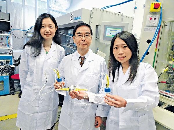 中大成功研發超級電容器及電池