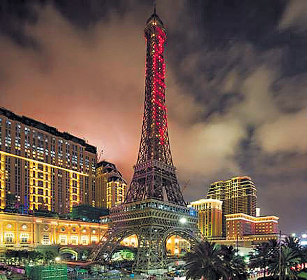 巴黎人酒店開幕 金沙中國:主打中場業務