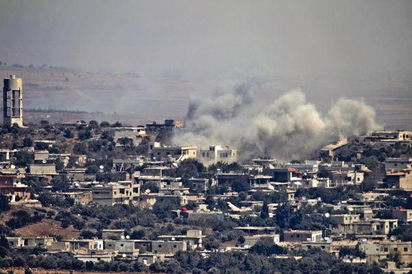 敘擊落戰機 以色列否認