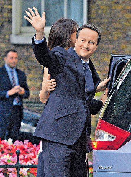卡梅倫辭議員 淡出英政壇