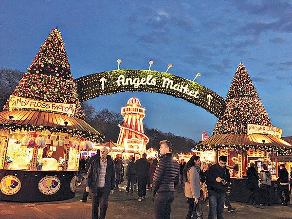 璀璨的聖誕市集