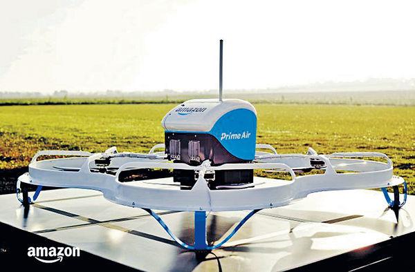 亞馬遜無人機 英國首送貨