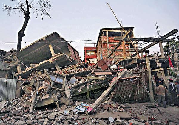 印緬邊境強震 8死逾百傷