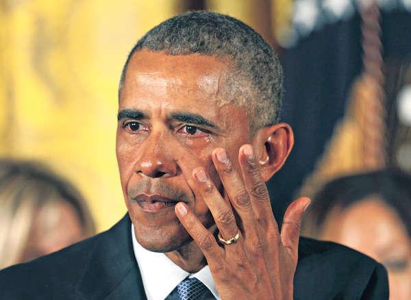 憶槍擊喪生童 奧巴馬流淚
