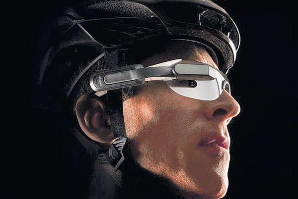 單車手智能眼鏡 設「後眼」