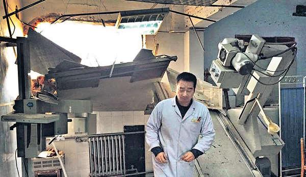 河南醫院遭強拆 醫生病人險被埋