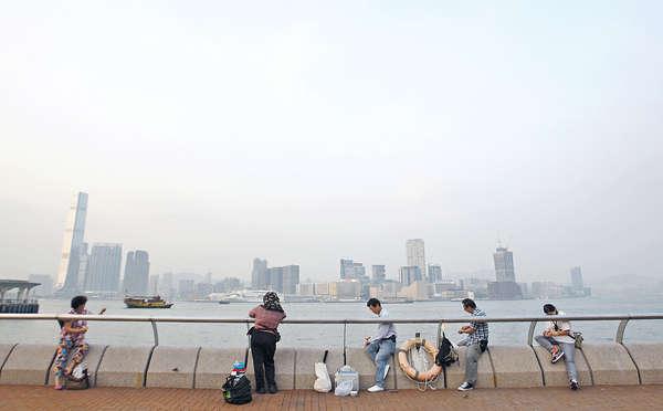 港臭氧污染 升幅勁過內地