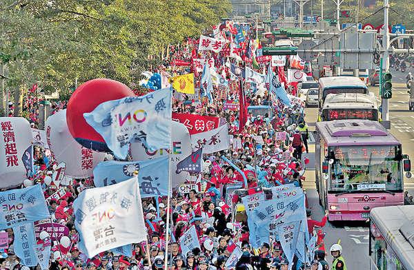 台選前「超級星期天」 3候選人大戰台南