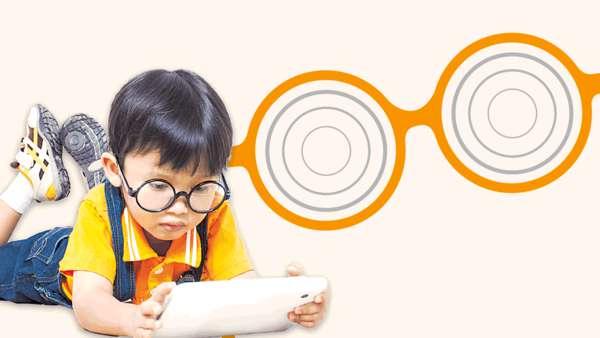 日用iPad兩個鐘 小童年增100度近視