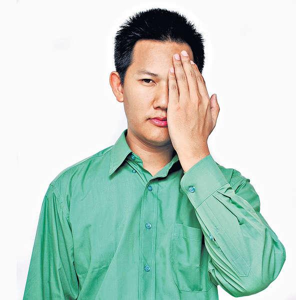 膽固醇超標 壯男眼中風恐盲