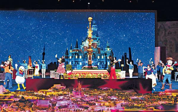 上海迪士尼年中開 衝擊港旅業