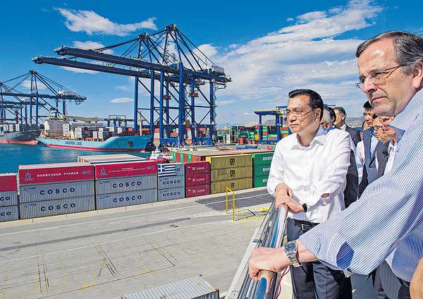 國企59億購希臘最大港 布局一帶一路