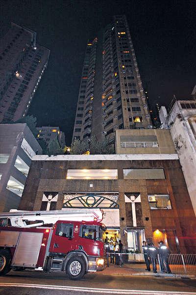 24樓火警 燒埋12樓