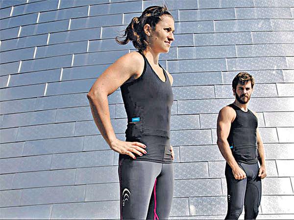 智能小背心 助你記低運動量