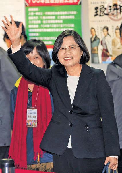 台大選明揭盅 蔡英文料成首位女總統