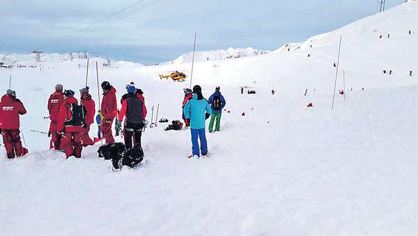 阿爾卑斯山雪崩 3死3重傷