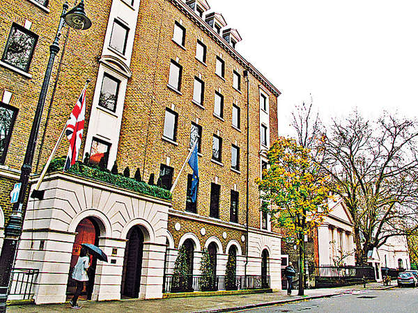 倫敦偷閒 米芝蓮餐廳下午茶