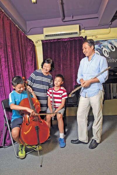 鼓勵孩子學音樂 用心五分鐘即收琴