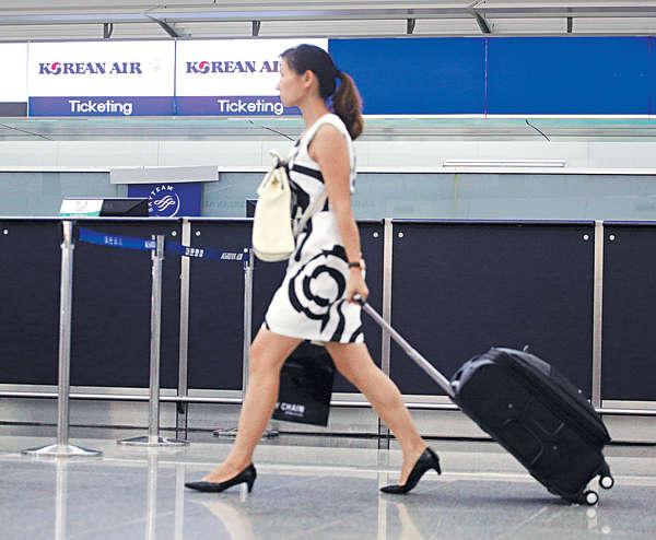 機場去年接待6850萬旅客