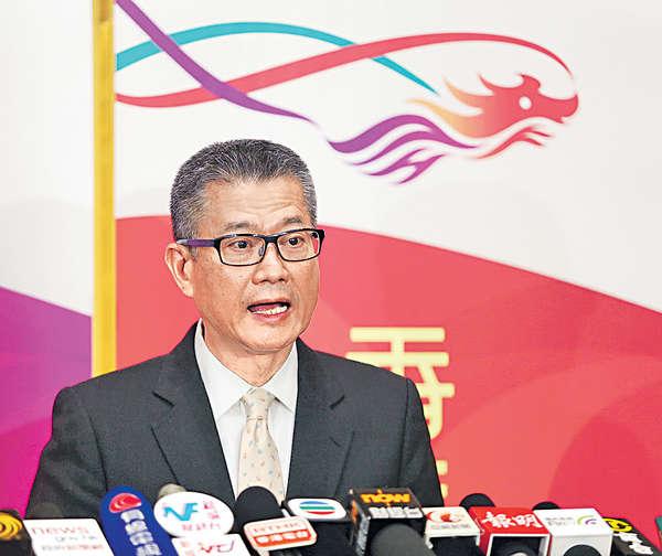 陳茂波:不改劃綠化地 礙房屋供應