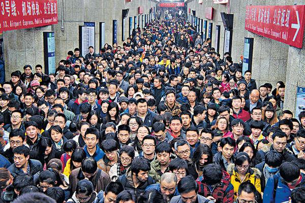 內地人口13億 男多女3千萬