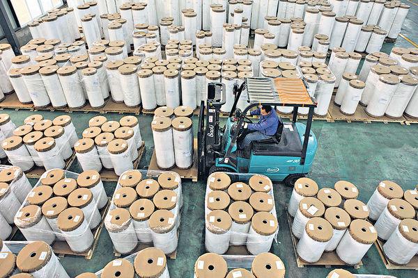 紙業盈利增長 高於收入