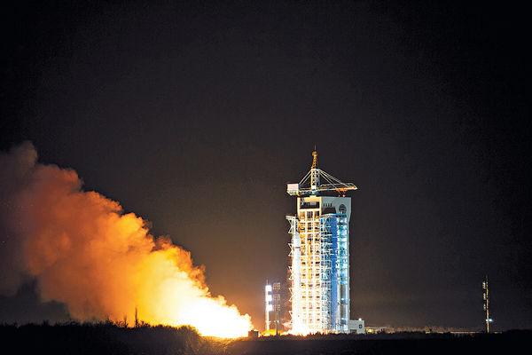 首顆碳衞星升空 可監測二氧化碳濃度