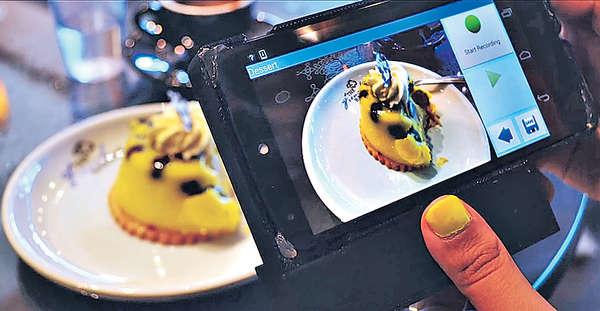 手機掃描食物 卡路里一目了然