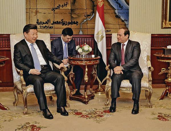 習近平訪埃及、伊朗 聚焦「一帶一路」