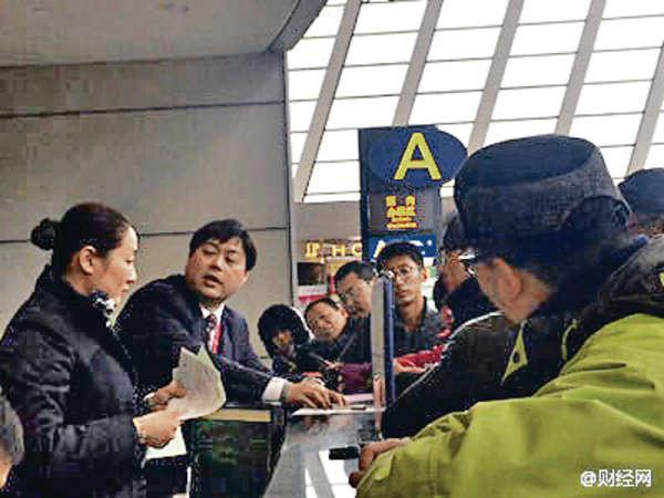 東航航班超賣 40人滯留滬機場