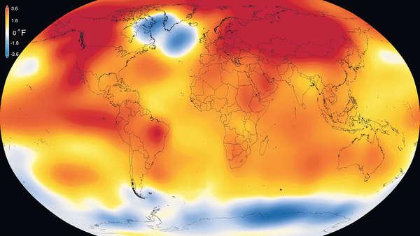 碳排放之禍 2015史上最熱