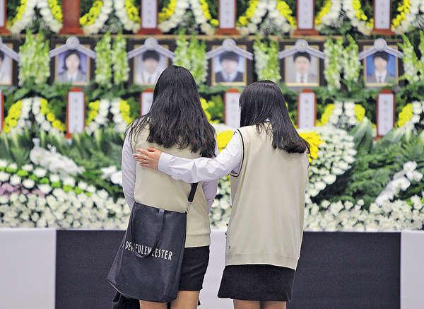 世越號遇難學生 竟獲南韓軍「徵召」
