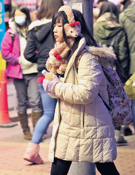 冬季季候風襲港 今日低至9度