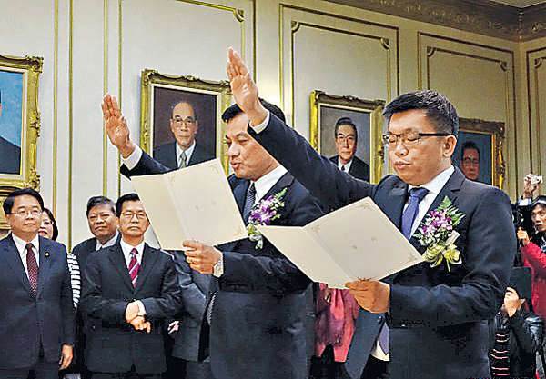 台立法院首「變天」 民進黨包攬正副院長