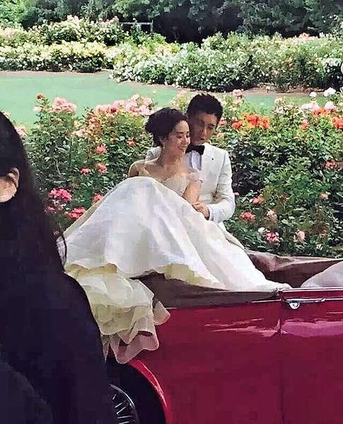 吳奇隆新西蘭 拍婚照曝光