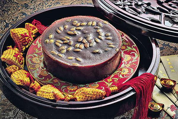 韓風 薑汁韓國黑糖瓜子仁年糕