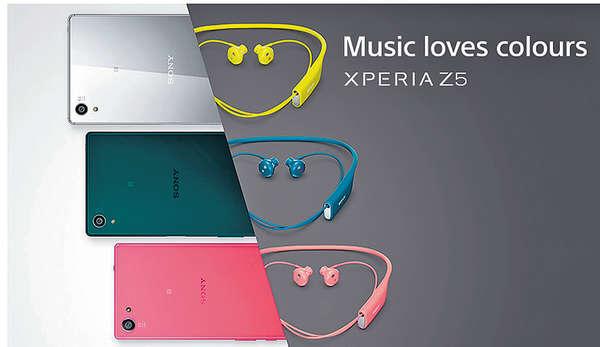 Sony Xperia Z5出機送耳機