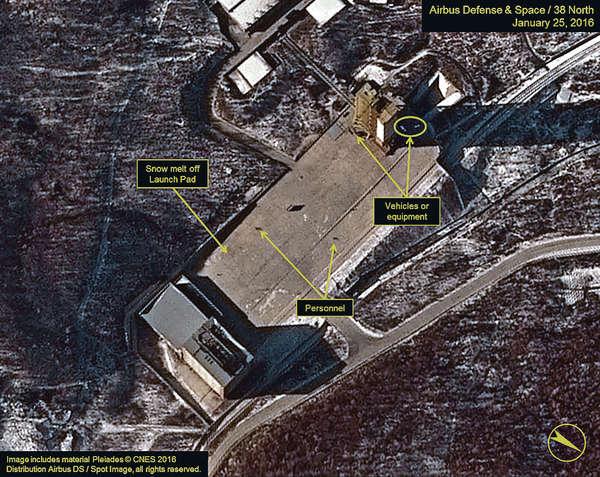 北韓發射台有異動 傳新導彈射程可達美國